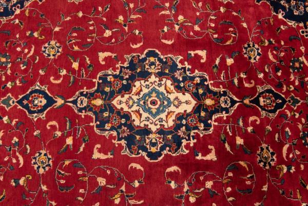 Kashan persisk tæppe