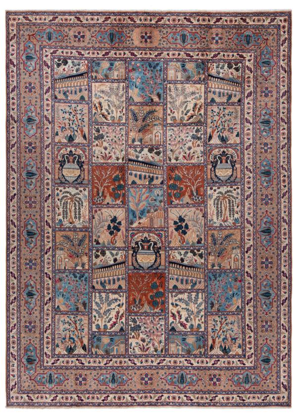 Kashmar Persian Rug Beige-Cream 333 x 243 cm