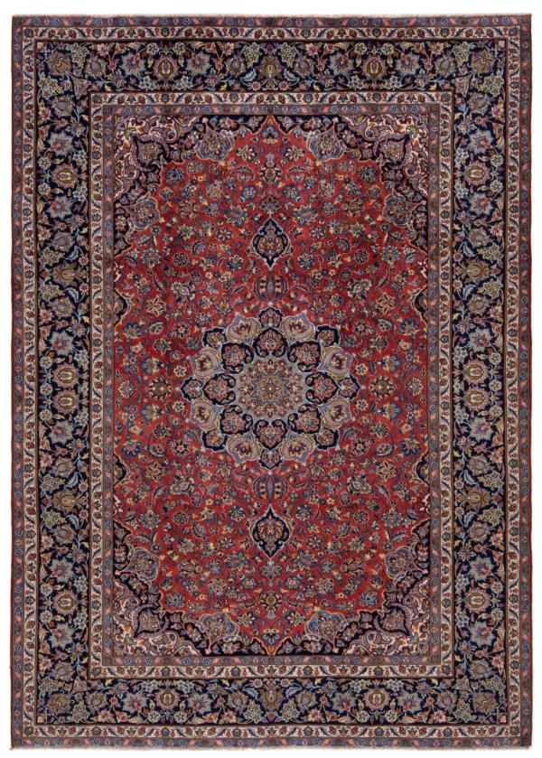 Najafabad Persian Rug Red 348 x 248 cm
