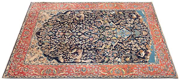 Alfombra persa Kashan