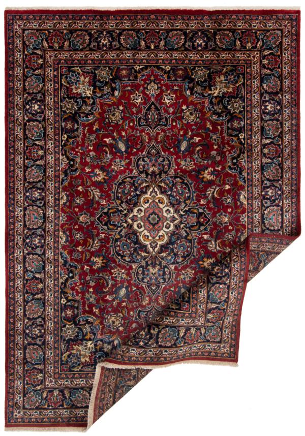 Mashhad Persian Rug Red 283 x 203 cm