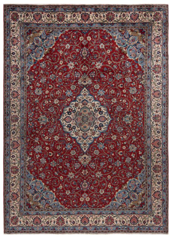 Sarough Persian Rug Red 335 x 245 cm