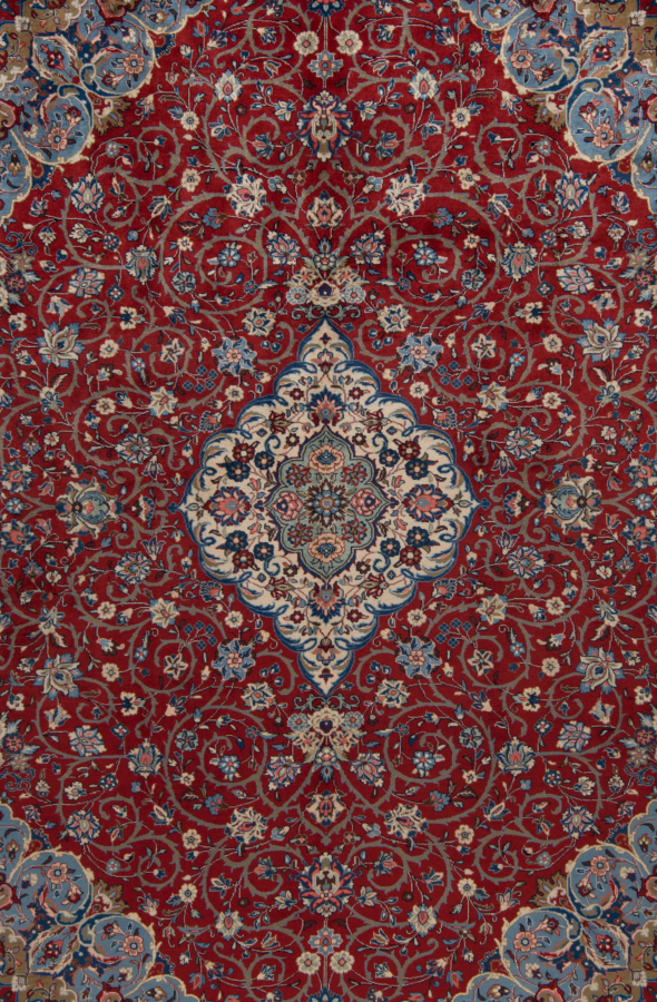 Sarough persisk tæppe
