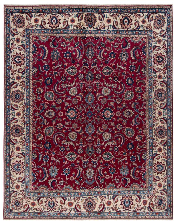 Kashan Peyman Persian Rug Red 380 x 283 cm