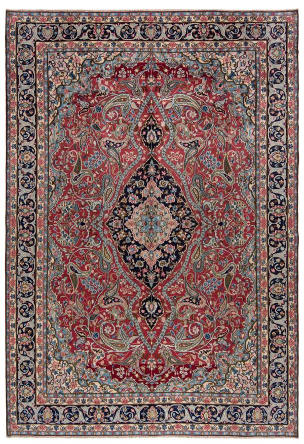 Kerman Persian Rug Red 422 x 290 cm