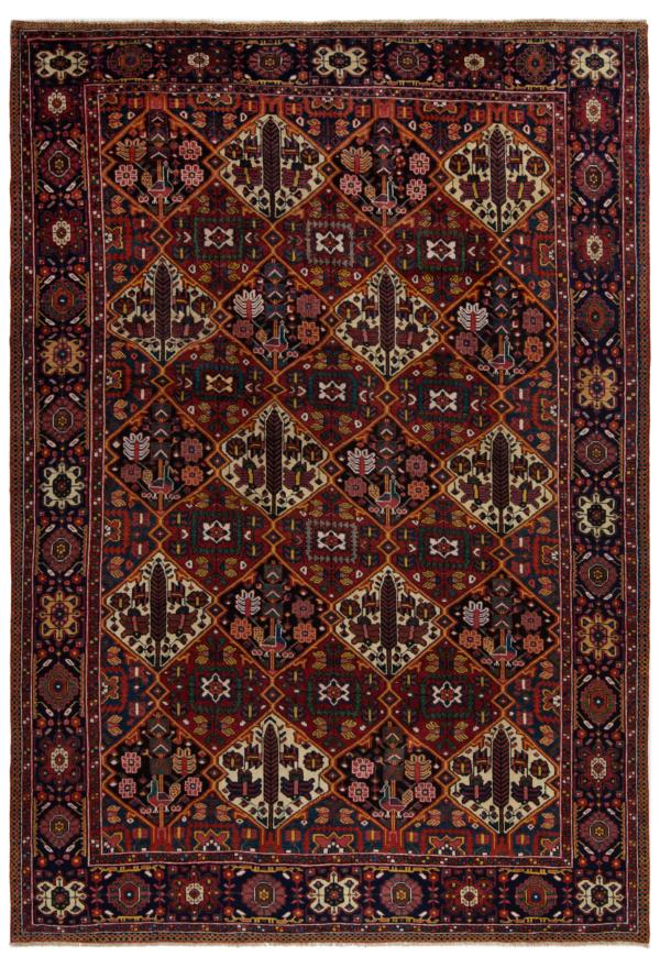 Bakhtiar Persian Rug Red 382 x 268 cm
