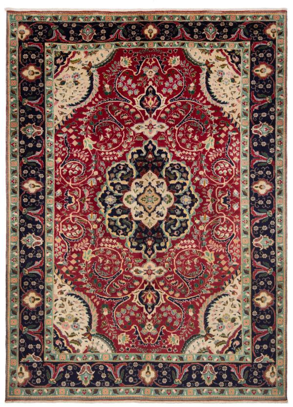 Tabriz Persian Rug Red 300 x 217 cm