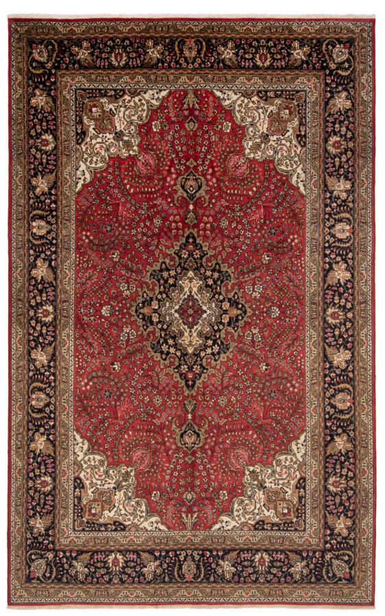Tabriz Persian Zug Red 312 x 197 cm