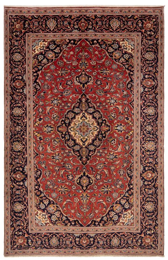 Kashan Persian Nug Orange 300 x 195 cm