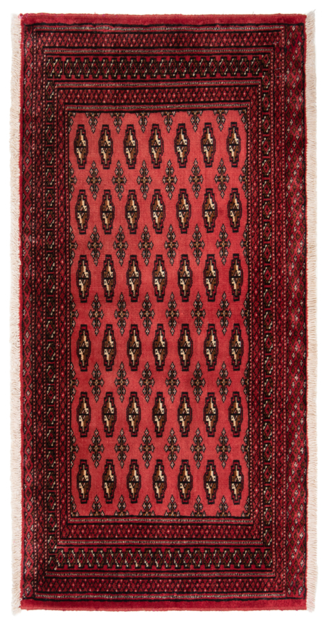 Balouch Persian Rug Red 110 x 55 cm