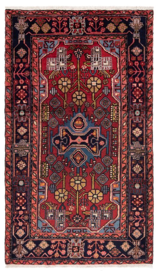 Nahavand Persian Rug Red 170 x 98 cm