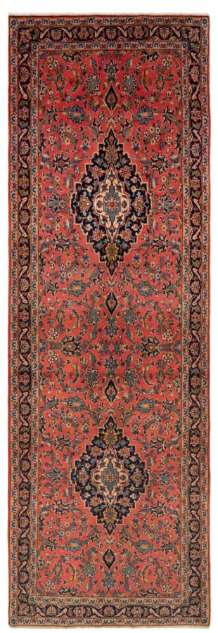 Kashan Persian Rug Orange 305 x 104 cm