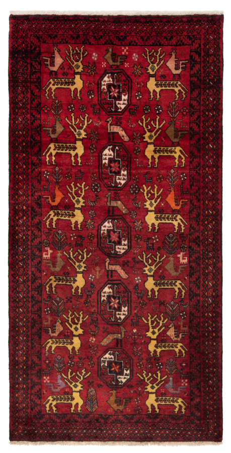 Balouch Persian Rug Red 168 x 86 cm