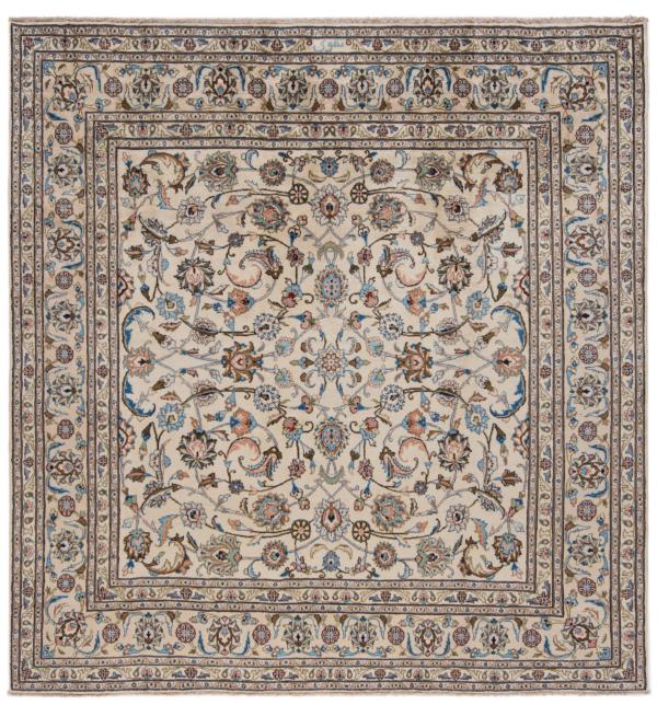 Kashmar Taghawie Persian Rug Beige-Cream 260 x 250 cm