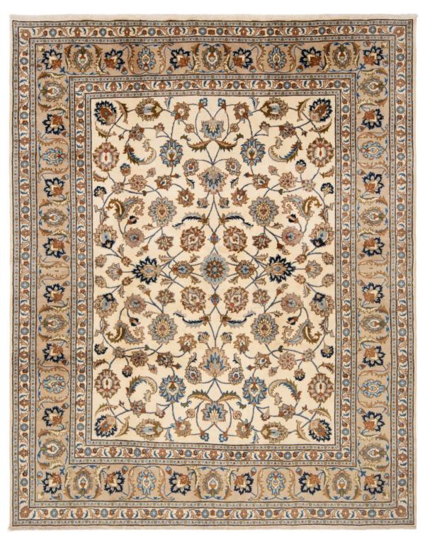 Kashmar Persian Rug White 248 x 200 cm