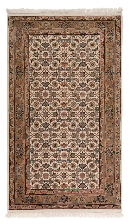 Tabriz Indian Rug Beige-Cream 154 x 90 cm