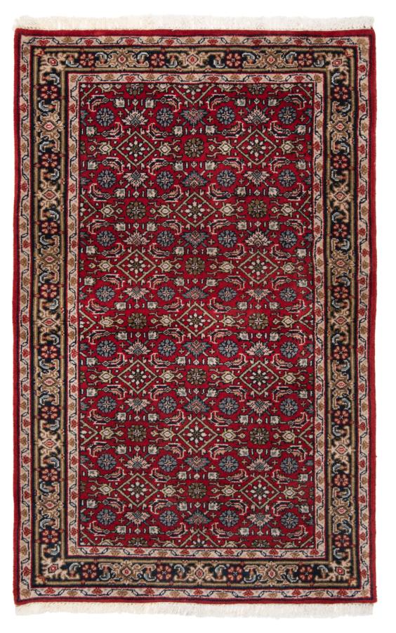 Tabriz Indian Rug Red 150 x 94 cm