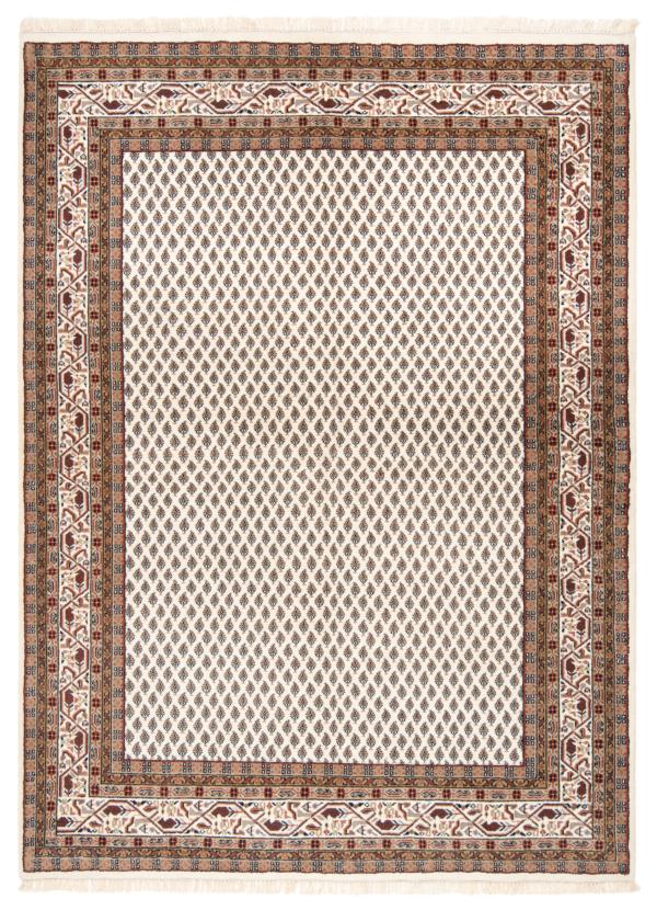Sarough mir Indain Rug White 237 x 175 cm