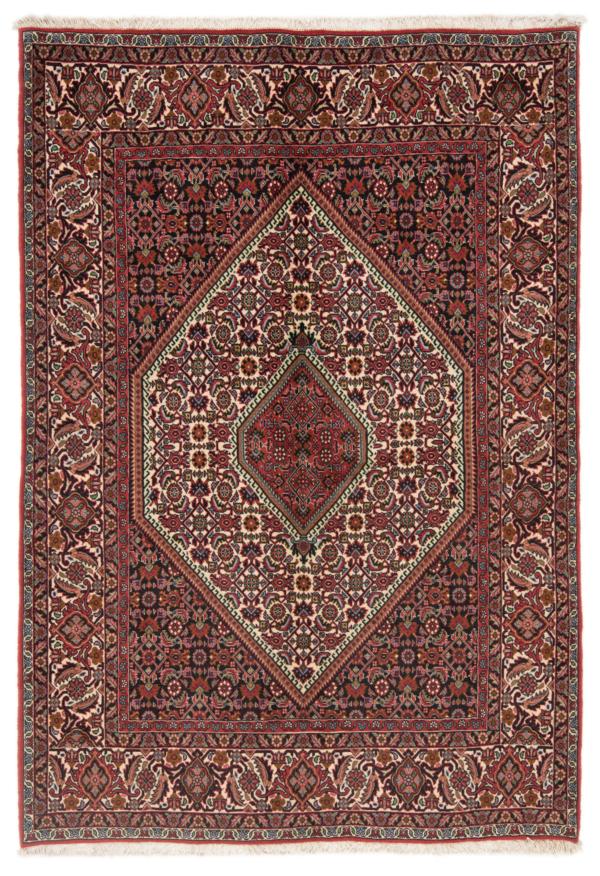 Bidjar Zanjan Persian Rug Beige-Cream 209 x 145 cm
