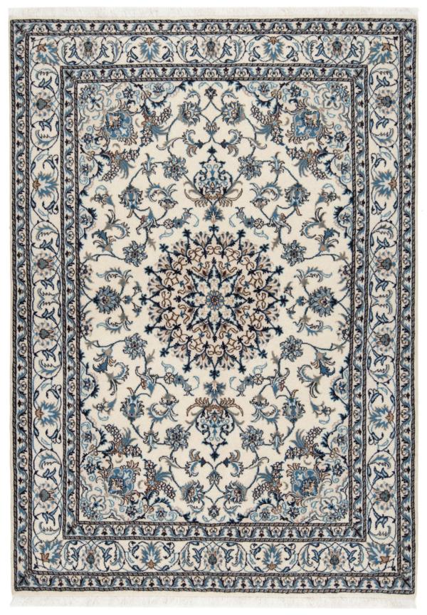 Nain Persian Rug Beige-Cream 232 x 164 cm