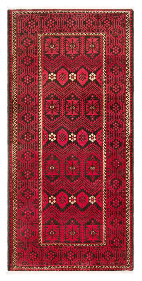 Balouch Pakistan Rug Red 215 x 118 cm