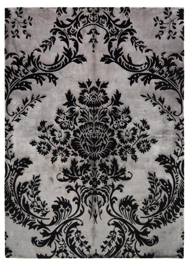 Design Modern Rug Gray 241 x 172 cm