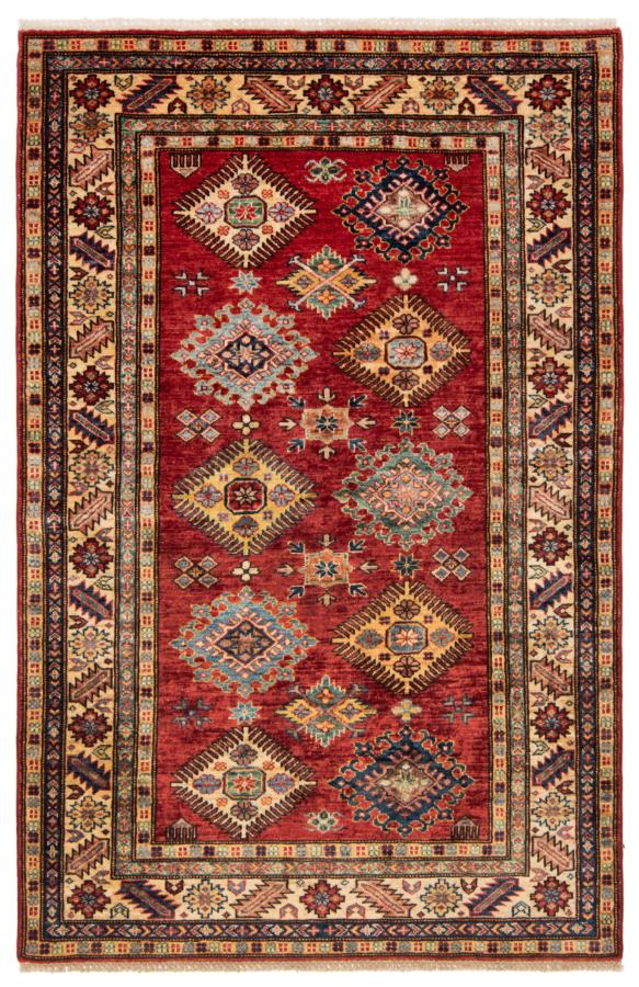 Kazak Fine Rug Red 185 x 122 cm