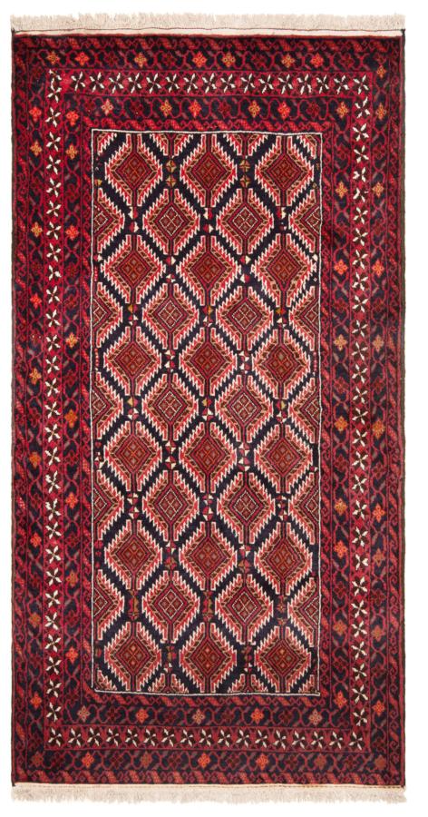 Balouch Pakistan Rug Red 185 x 102 cm